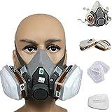 Sendgo 7 in 1 Halbmaske Kostüm für 3M 6200 Gas, Atemschutz