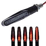 1 stück Universal 12V LED-Motorrad Blinker Blinker Blinker Blinkender Indikator (Color : A1)