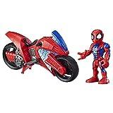 Playskool Heroes Marvel Super Hero Adventures Spider-Man Swingin' Speeder, 12,5 cm Figur und...