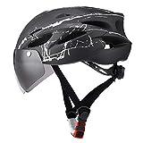 RSTJ-Sjcw Fahrradhelm für Herren und Damen EPS-Körper + PC-Schale integrierte Form MTB Helm mit...