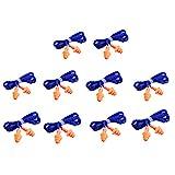 Moligh doll 10 Paar Wiederverwendbare GEHRschutzstPsel mit Silikon Schnur