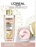 L'Oréal Paris Age Perfect Golden Age Geschenkset mit Gesichtswasser und Tagespflege, 528 g