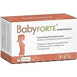 BabyFORTE Kinderwunsch Vitamine – Vegan + Maca, Myo-Inositol & Q10 + 800 mcg Folsäure...