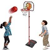 GAYISIC Kinder Einstellbare Basketballständer Basketballkörbe Basketballkorb mit Ständer...