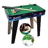 Tisch Kindertischbillardtisch Großen Und Mittelgroßen Schwarz 8 Billardtisch Innen-Coole Spiele...