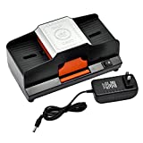 Seasaleshop Kartenmischmaschine 1-2 Kartenspielen Elektrisches Automatisches Batteriebetriebenes...