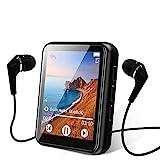 MP3 Player, 16GB Bluetooth 5.0 MP3 Player mit 1.8' Touchscreen, HiFi Verlustfreier Ton Musik Player...
