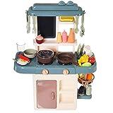 Ycco 42 stücke Kind Küche Spielzeug Simulation Kochen Spielwaren Spray Wasser ABS Geschirr...