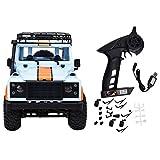 Nannday Ferngesteuertes Auto, MN-99 Maßstab 1:12 2,4G 4WD Crawler ferngesteuertes Auto Elektro RTR...