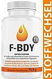 Vihado F-BDY 2.0 - Stoffwechsel Komplex Kapseln, Fr Frauen und Mnner mit Grner Kaffee Extrakt, Grner...