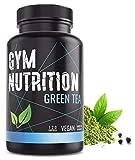 GYM-NUTRITION — GREEN-TEA Grüntee-Extrakt – Hochdosiert, vegan – Grüner Tee, beliebt in...