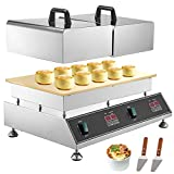VEVOR Kommerzielle Soufflee Maschine Dorayaki Baker Pancake Maker 3000W