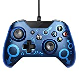 CHAW USB Wired Controller mit Dual Vibration Joystick Game Controller Kompatibel mit X-Box One/One...