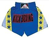 Kick – Thai Boxing – K-1 – Fuji Mae – Kickboxing Shorts blau/gelb