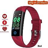 Drohneks E68 Smart Armband Herzfrequenz-Blutdruckmessgerät Multi-Sport-Modus Smartwatch Armband...