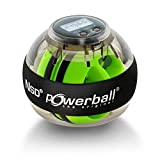 Kernpower Hand- Und Armtrainer Powerball The Original Autostart Plus Digitalem Drehzahlmesser, grau...