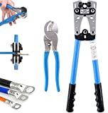 ADUGEN Crimpzange Kabelschuh Set, Rj45 Professional Krimpzange, Sperrad Kabel Kabelschuhzange Mit...