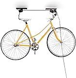 Relaxdays Fahrradaufhngung, Fahrradlift, bis 20 kg, Fahrrad Deckenhalter, mit Seilzug, fr Garage und...