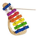 IPOTCH Xylophon Kinder Musikinstrumente Glockenspiel, Kinderschlagzeug Pdagogisches Geburtstag...