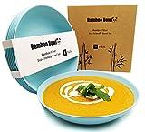 BioBowl© Nachhaltige Suppenteller 6er Set | Große Runde Tiefe Teller für 6 Personen |...