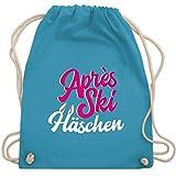 Aprs Ski - Aprs Ski Hschen - wei/fuchsia - Unisize - Hellblau - Aprs-Ski Hschen - WM110 - Turnbeutel...