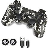 PS3 Controller, Controller PS3, Wireless Controller für PS3, Double Shock 6-Achsen Joystick...