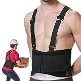 RHINOSPORT Rückenbandage Verstellbar Arbeitsschutz entlastet Rückenstützgürtel Industriegurt...