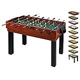 10 in 1 Multifunktionstisch für die ganze Familie - Multigame Spieltisch Multifunktion für Kinder...