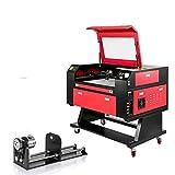 VEVOR 60W Laser Engraving Maschine CO2 Laser Engraver Laser Cutting Machine Graviermaschine und...