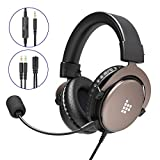 Gaming Headset für PS4 Xbox One PC, Tronsmart SONO Professioneller 3.5mm Over-Ear Gaming...