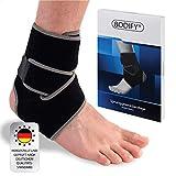 Bodify® Fußbandage – Schmerzlindernde Sprunggelenkbandage – Knöchel Schutz und Stabilität...
