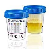 Clevertest Multi Drogentest Für 5 Drogen Arten - Professioneller Drogenschnelltest Im Sterilen &...