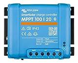 Victron Energy SmartSolar MPPT Laderegler 100/20-48 12V 24V 48V 20A Solarladeregler Bluetooth...