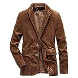 Herren Sakko Sportlich Trenchcoat Classic Outwear Lange Business Cord Jacke Jackett Slim Fit...