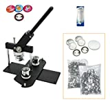 ChiButtons (Kit) 25 mm (1 Zoll) Pro Badge Maschine Button Maker B400 + Form + 500 Teile +...