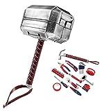 Mighty Thor Hammer Werkzeug Set 29-teilig Werkzeug Kit Avengers Mjolnir General Haushalt...