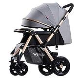 KIVEM Standardkinderwagen, Buggy für Babys von Geburt bis 25 kg, leichte, kompakte,...