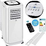 KESSER® - Klimaanlage Mobiles Klimagerät 4in1 kühlen, Luftentfeuchter, lüften, Ventilator - 7000...