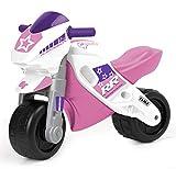 FEBER Famosa 800008174 MotoFEBER Racing - Laufräder mit Helm, für Mädchen von 18 Monaten bis 3...