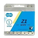 KMC Wide Z1 breite Kette, Silber, 112 Link
