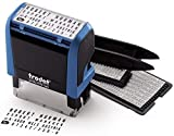 Trodat Printy 4912 Typo – Selbstfärbender Stempel zum Selbst Setzen von Text, 4 Zeilig,...