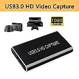 KuWFi HDMI Game Capture Karte, Videoaufnahmekarte Grabber HD auf Typ C/USB C/USB 3.0 1080P...