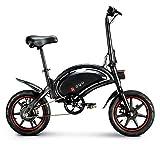 TOYSSKYR Strong Bike Folding Elektro-Fahrrad, 50 km Fahrzeit erreichbar, 6Ah Lithium-Ionen-Batterie,...