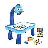 Yue668 Projektor Lernen/Zeichnen Malerei Tisch Set, Kinder Smart Projektor Schreibtisch Mit Licht &...