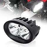 BeiLan Zusatzscheinwerfer Motorrad LED,Scheinwerfer Motorrad,Nebelscheinwerfer Motorrad Schwarz,LED...