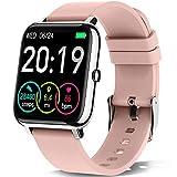 Motast Smartwatch, Fitnessuhr Damen Herren 1.4 Zoll Fitness Tracker mit Pulsmesser und...