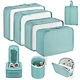 Newdora Koffer Organizer Set, 8 unterschiedliche Größen, kleidertaschen für Kleidung Kosmetik...