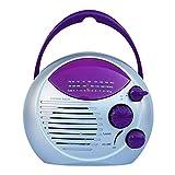 Klasse 5 Wasserdichtes Tragbares Radio, Am/Fm-Radio, Eingebauter Lautsprecher, Badezimmer-Wandradio