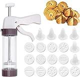 LATRAT Cookie Maker Press Gun Kit Keksherstellung und Zuckerguss-Set, Gebäckpresse für Kuchen und...