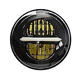5.75 '' LED Projektions Scheinwerfer für Harley Davidson Sportster Dyna Nightster Wide Glide Street...